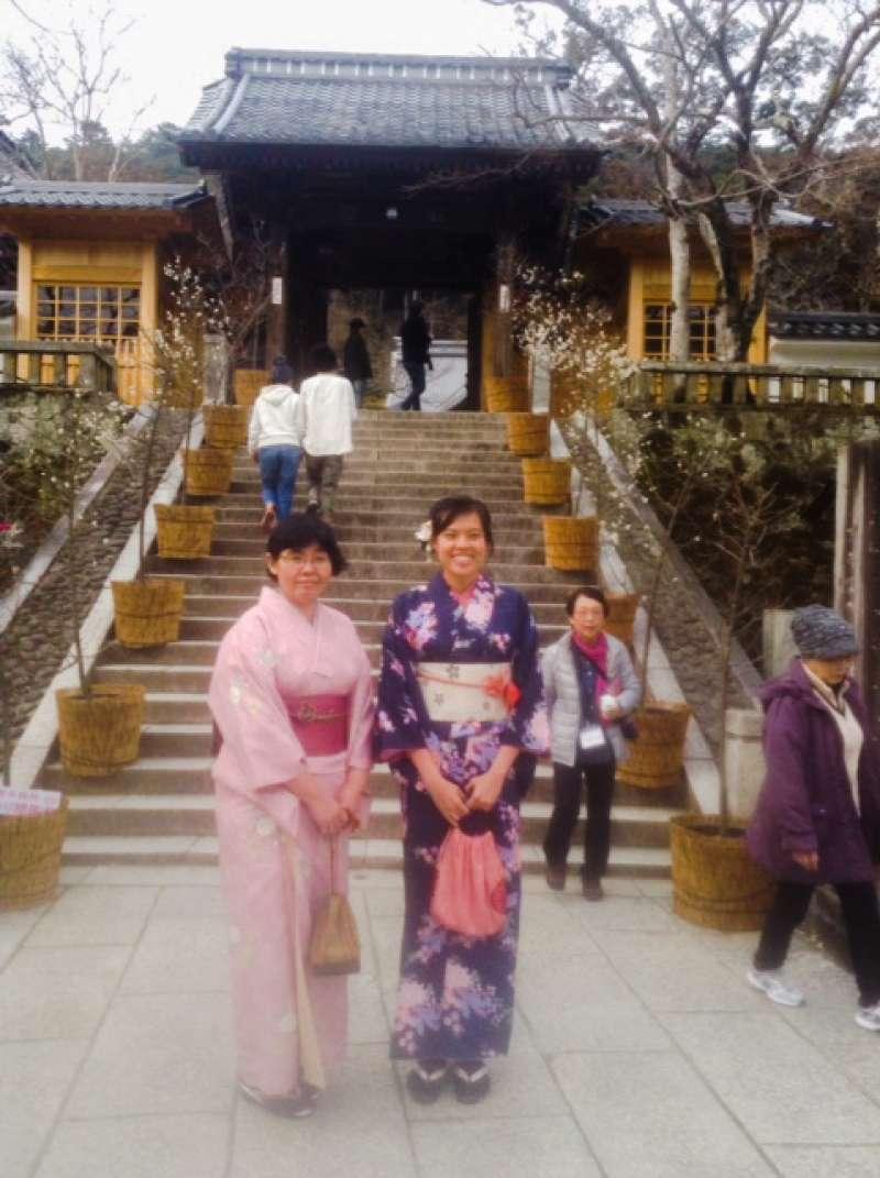Kimono in Shuzenji