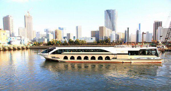 Let's enjoy the Sumida river cruise.