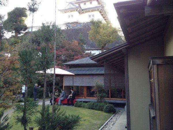 Japanese style tea house
