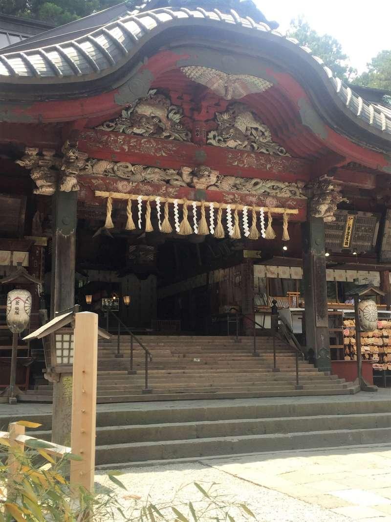 Main builing of shrine