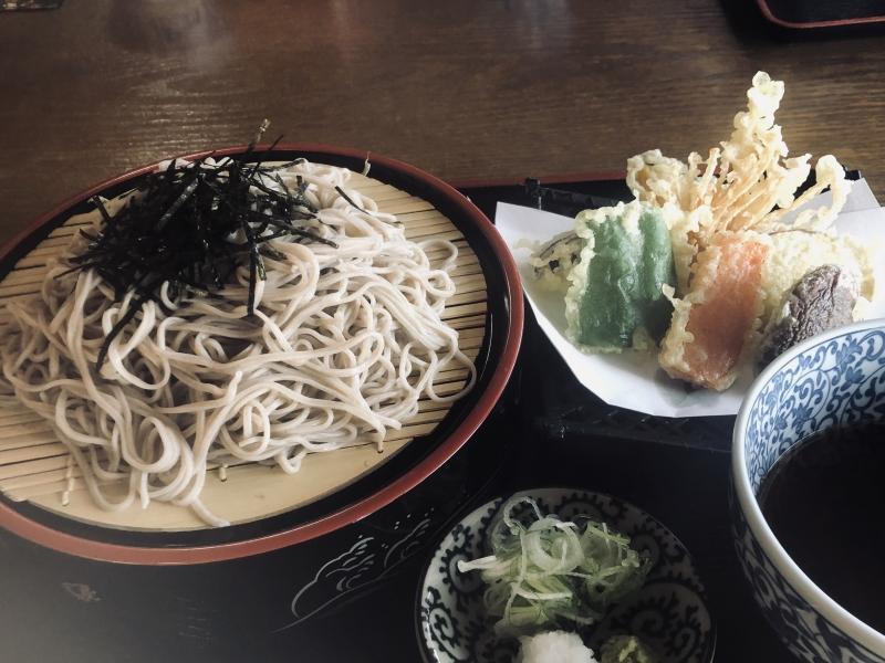 Hand-made Soba noodles