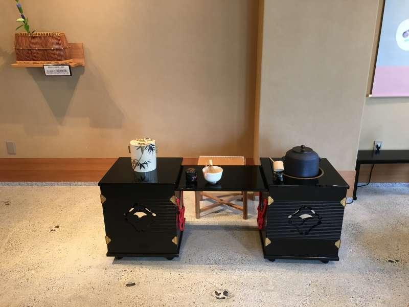 Tea ceremony equipments