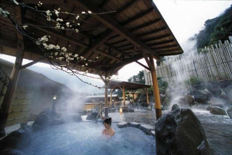 Hot spring in Hotel Okada