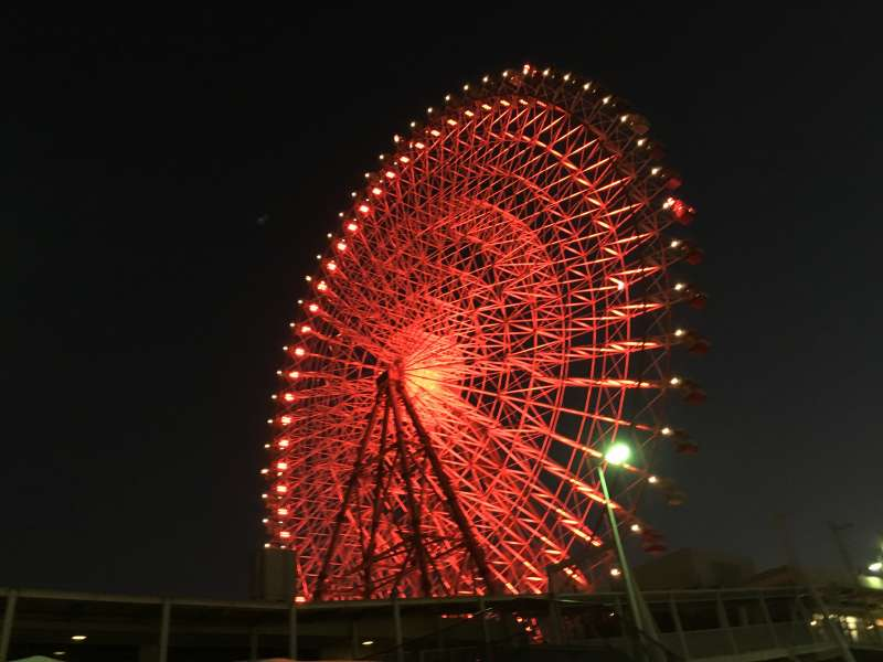 Ferris Wheel at Osaka port