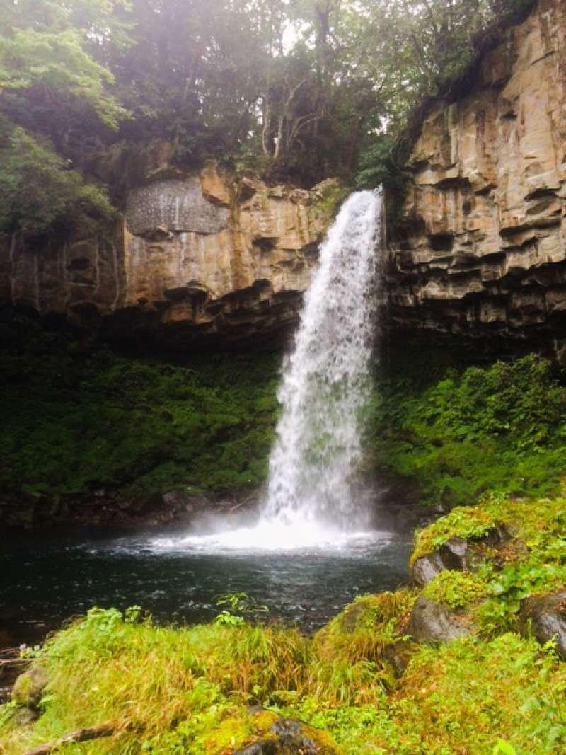 Banjo fall in Izu Geo Park