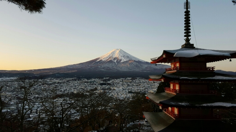Mt Fuji,as a sacred place for worship