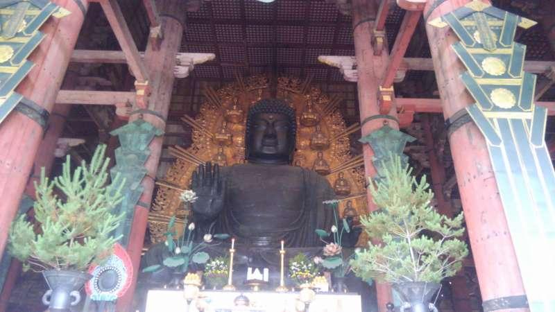 Great Buddha at Todaiji temple