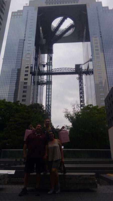 Umeda sky building (option)