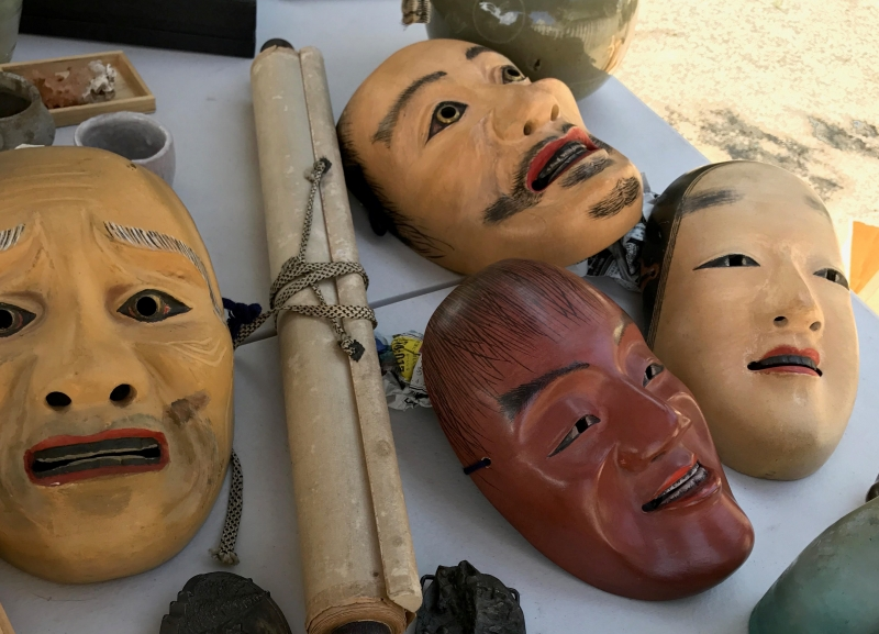 Masks, dolls, and crafts. Ask your guide for more info.