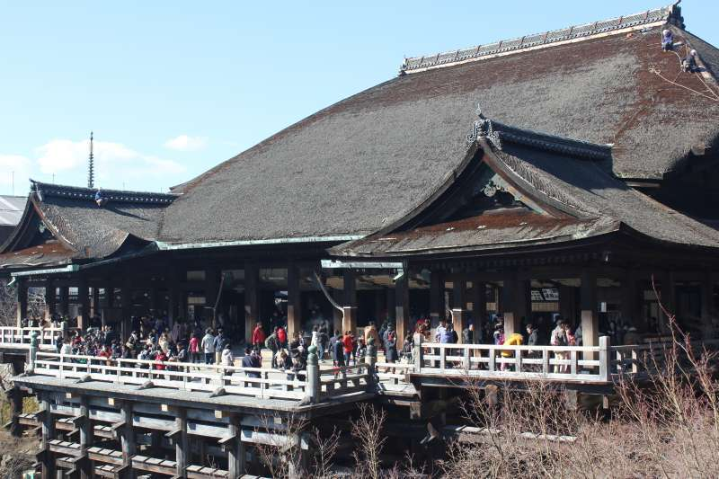 The most popular temple in Kyoto.