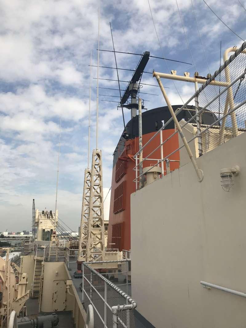 South Pole research ship