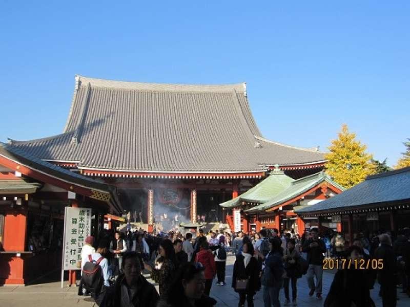Senso-ji Temple in Asakusa: