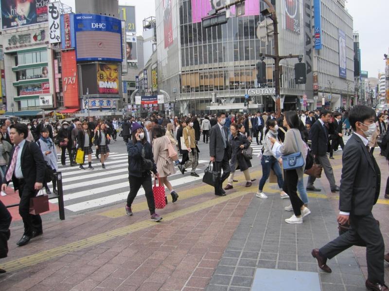 Shibuya crossing: