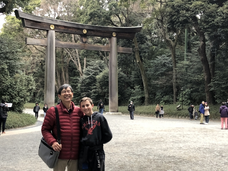 Meiji Shrine: Meiji Emperor is enshrined here.