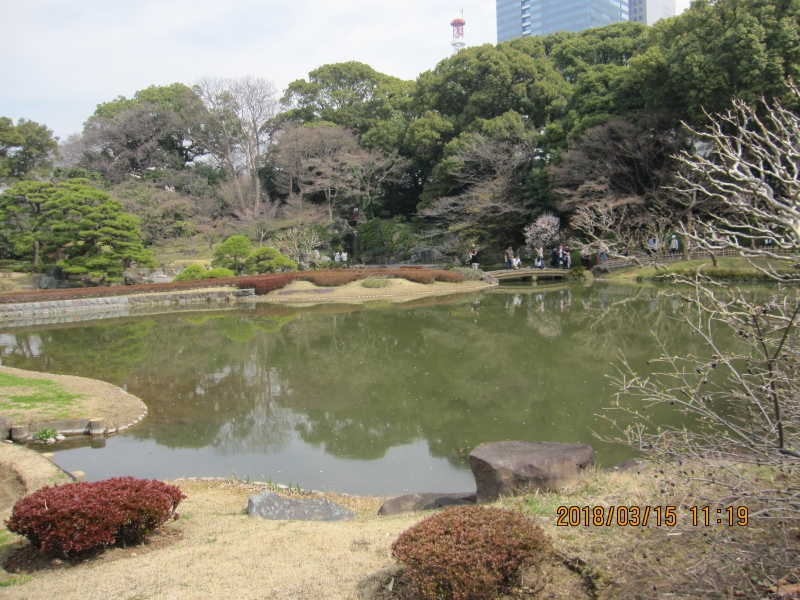 East Garden of Imperial Palace:  A small sized typical Japanese garden here.
