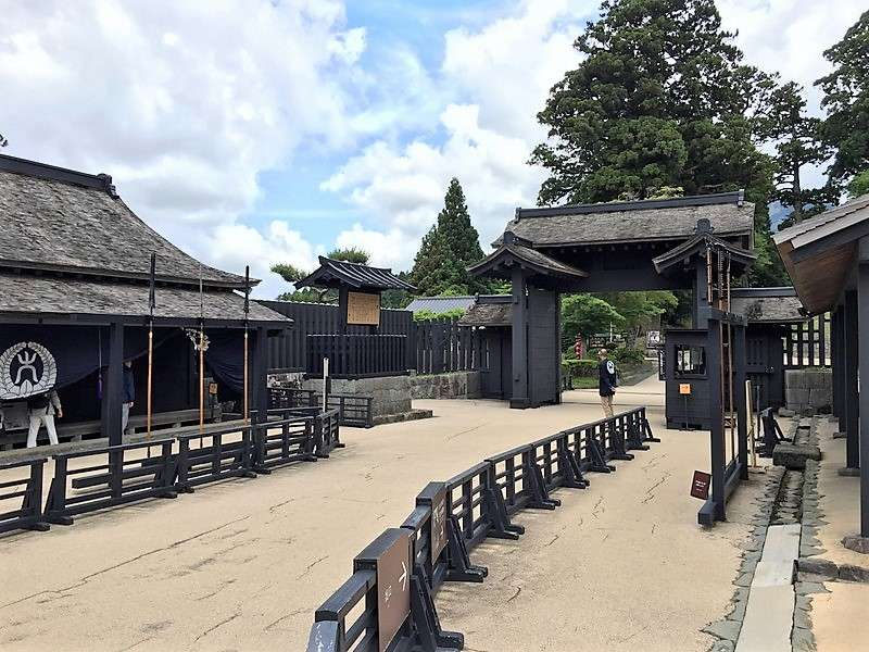 Government checkpoint of Edo period during the Edo era (17centry – 19centry)