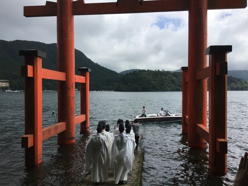 Hakone Shrine deity has been enshrined for more than 1250 years