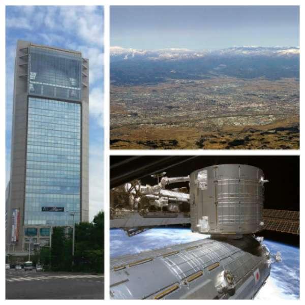 Beautiful  View  of Koriyama landscape   & Space Park  Experience.