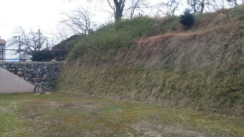 (Option) The wall which was surrounding Kyoto Capital in 16th century