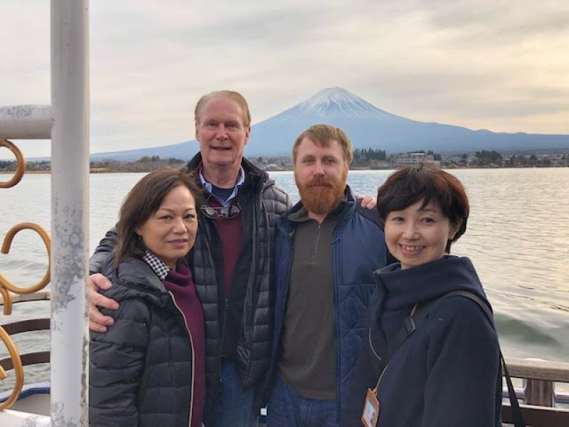 Mt. Fuji from the Sightseeing boat