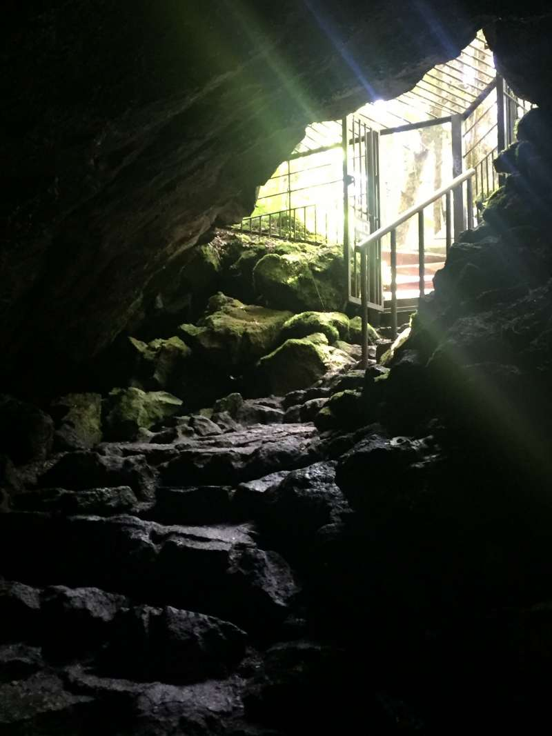 Entrance of Saiko Bat Cave