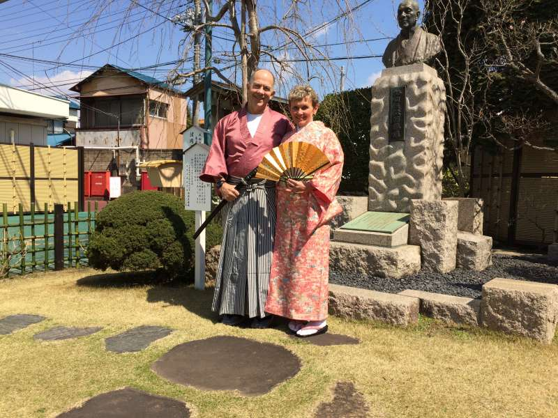 Every Wednesday, Thursday and Friday, you can try beautiful Japanese Kimono with 800Yen.(Close in Summer Time)