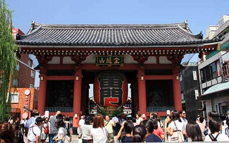 1.1 Sensoji temple and Nakamise dori
