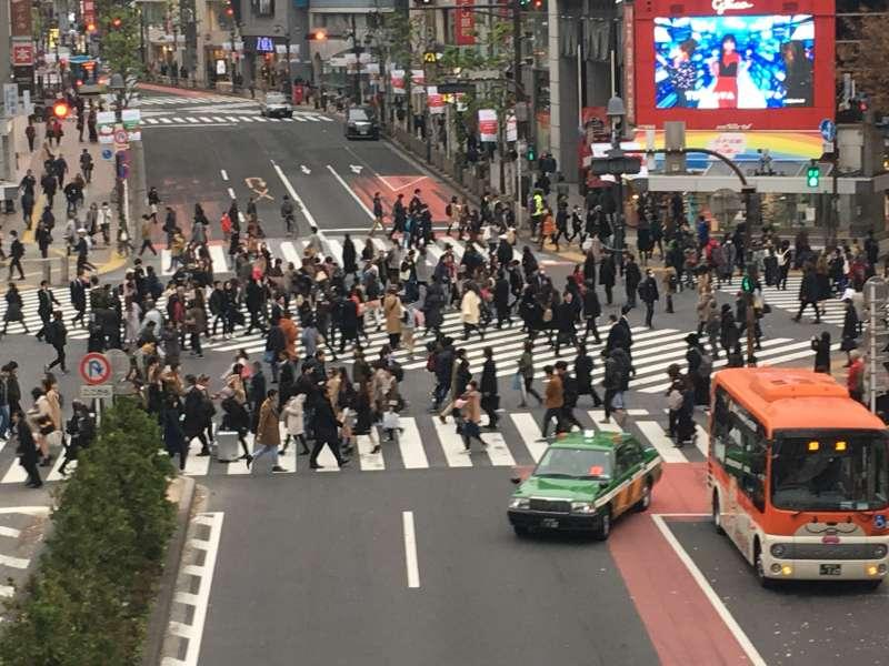 6.1 Shibuya scramble crossing