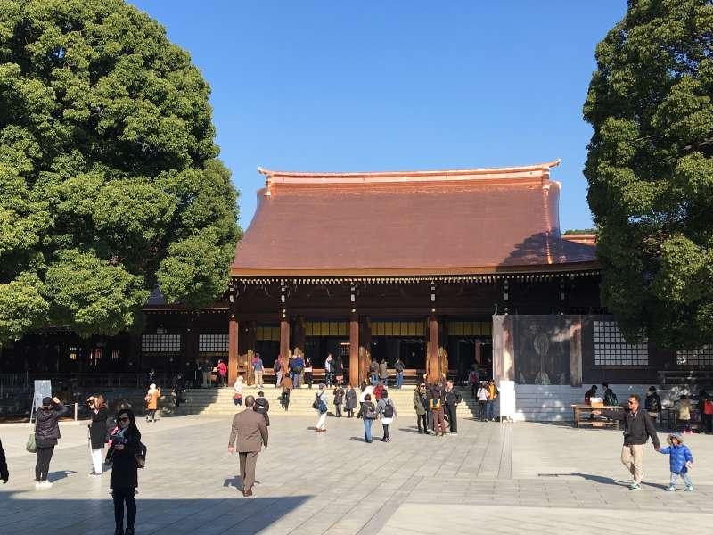 5.1 Meiji Jingu shrine