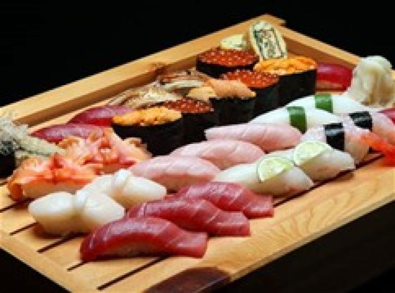 Frische Sushi Platte!!