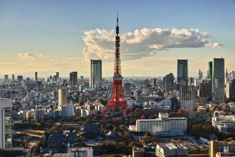 Tokyo, Hauptstadt von Japan