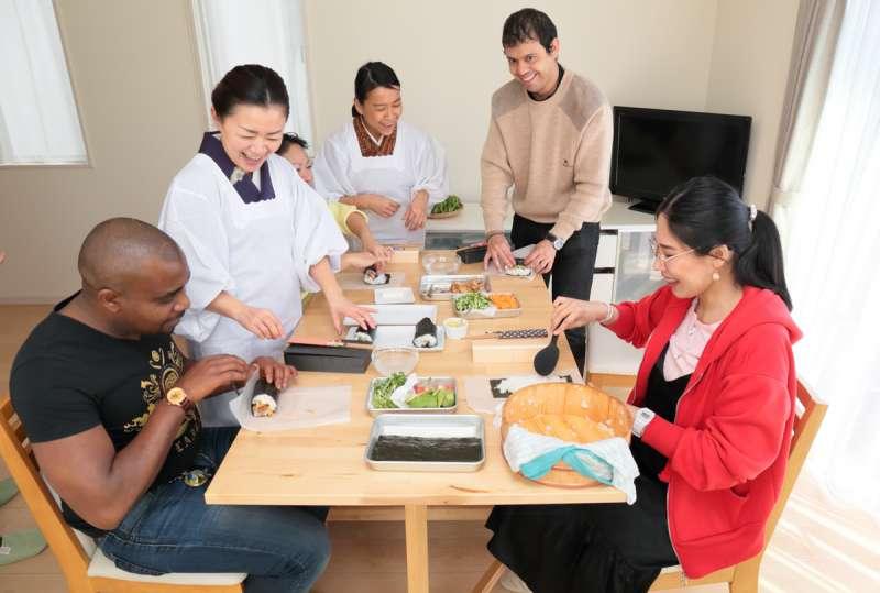 Make Japanese Bento (lunch box)  in Kamakura