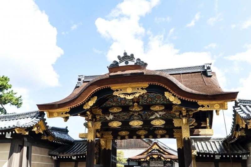 Nijo castle ninomaru palace / Caramon gate