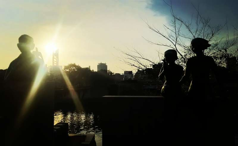 Sunset at River OTA