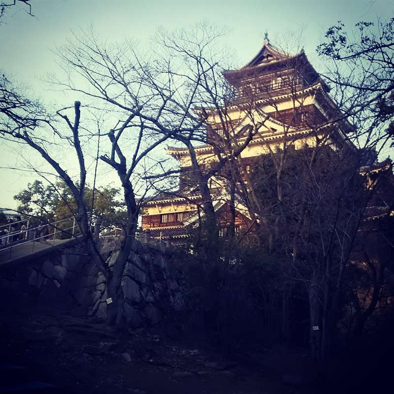 Sunset@Hiroshima Castle