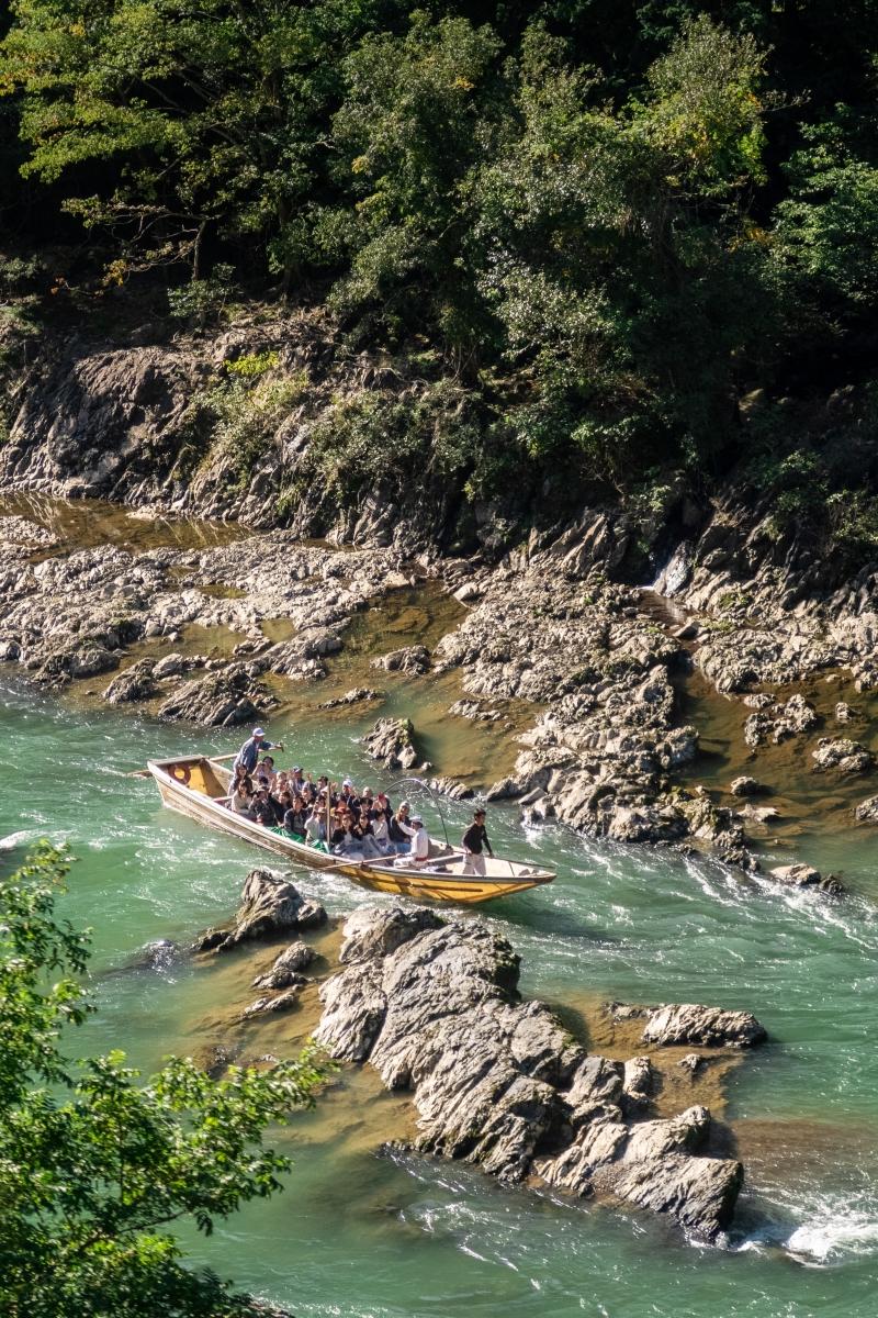 Katsura River in Arashiyama