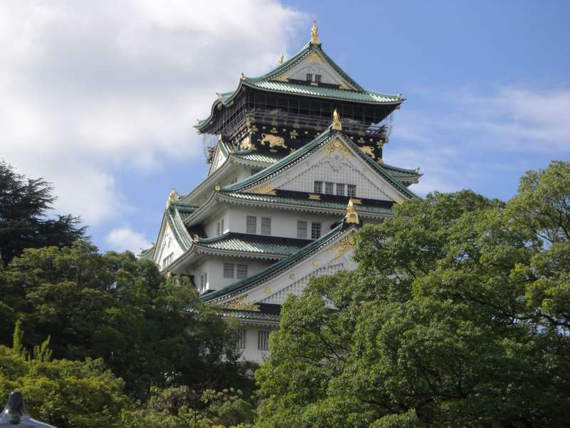 N01 - Osaka Castle Tower