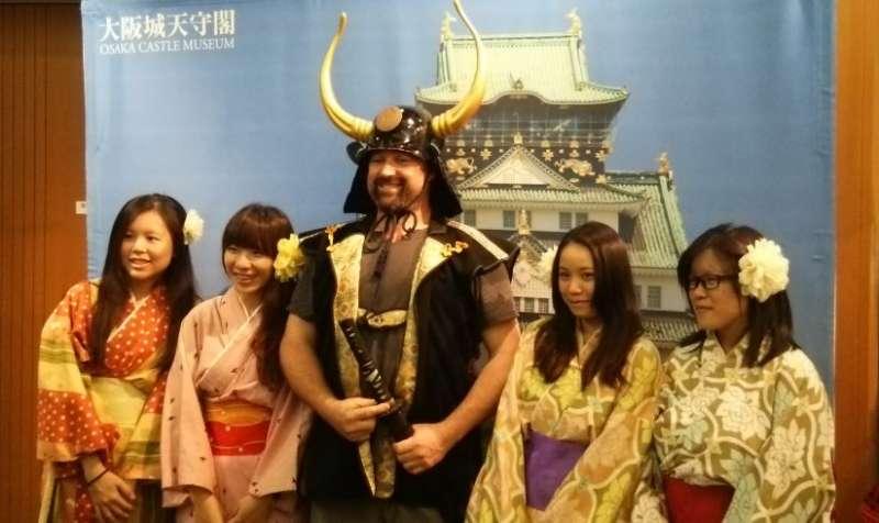 N01 - Warlord experiece at Osaka Castle