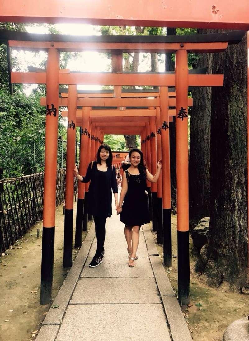 花園稻荷神社,快來求愛情和結緣