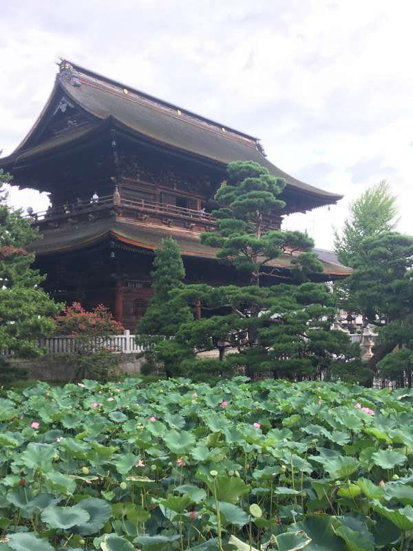 Zenkoji Temple Gate