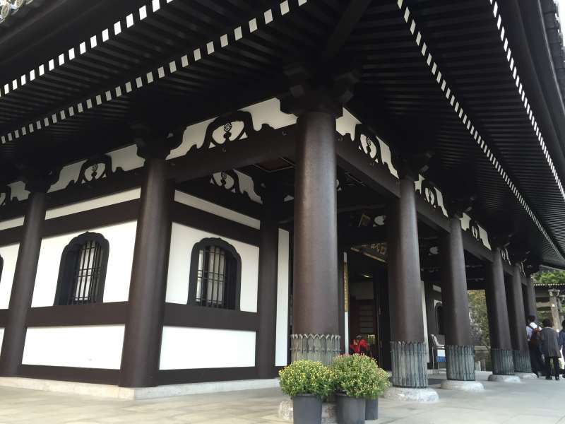 Main hall of Hasedera Temple.