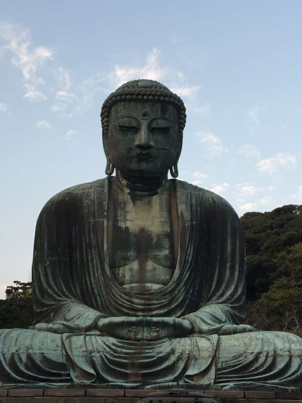 Great Buddha at Kotokuin Temple. 