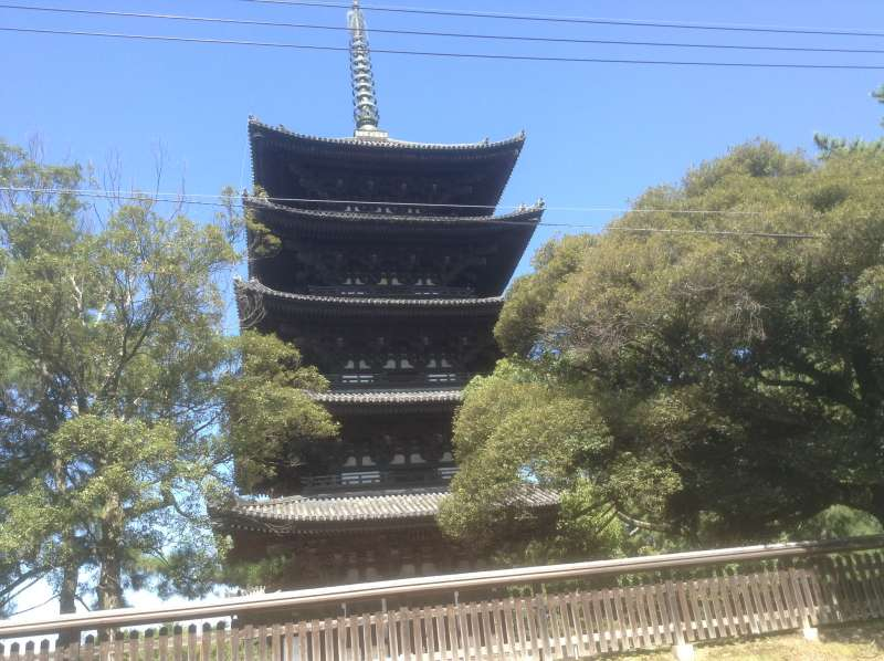 Five-storied pagoda in Koufukuji Temple