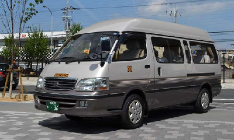 our 9-seater car