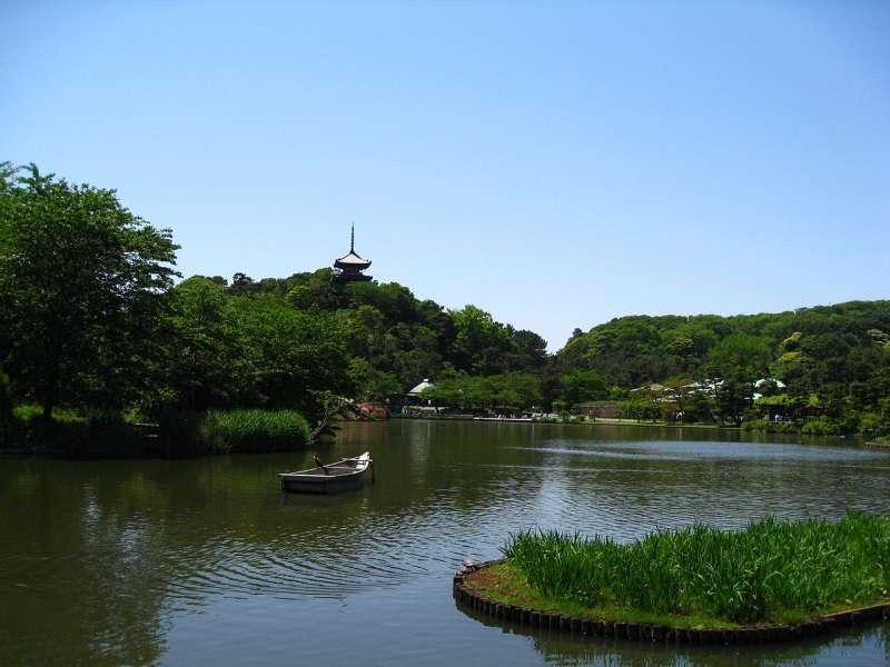 Sankei-En Japanese garden