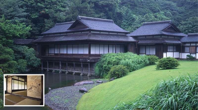 Sankei-En Japanese garden (Villa of Samurai built in 1649)