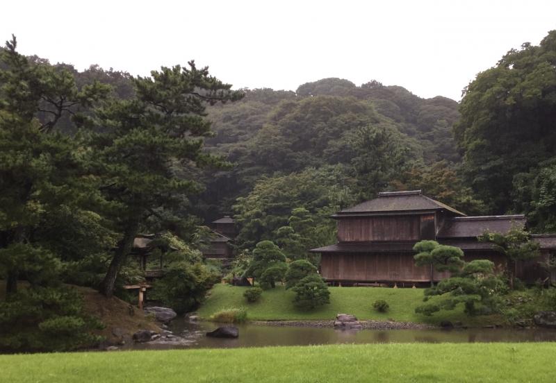 Sankei-En Japanese garden (Collection of tea houses)