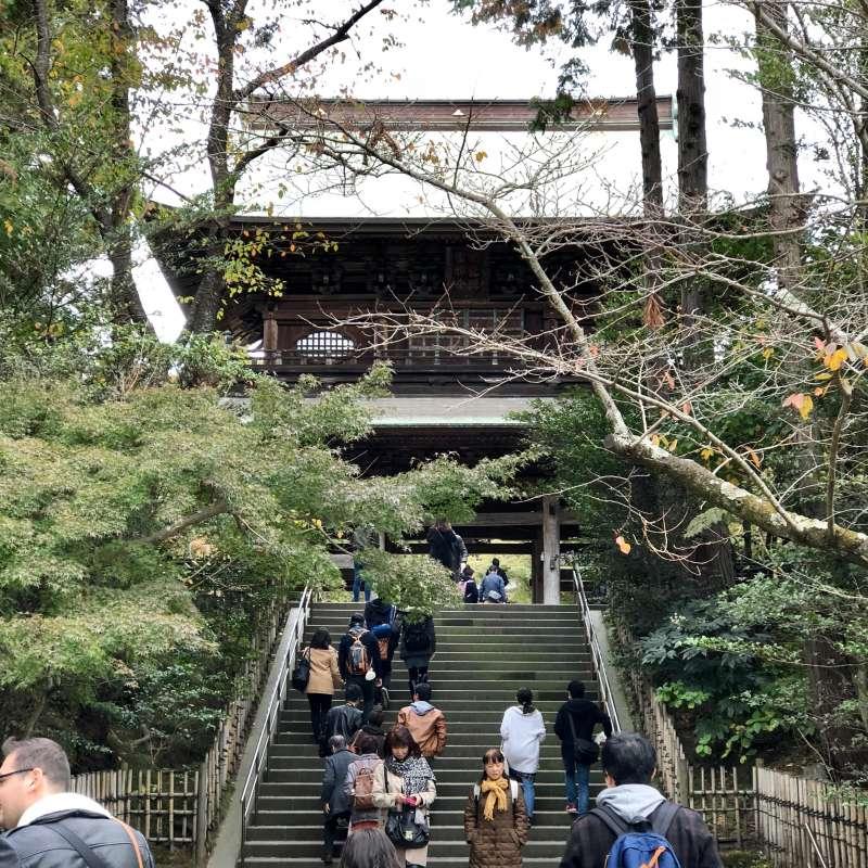 Engaku-ji Temple Sanmon Gate