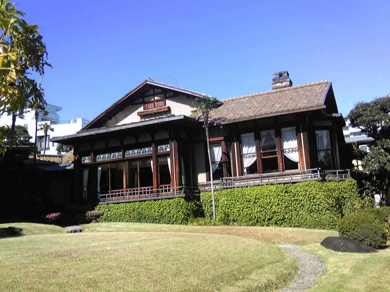 Kiunkaku, a beautiful historic villa of a shipping tycoon