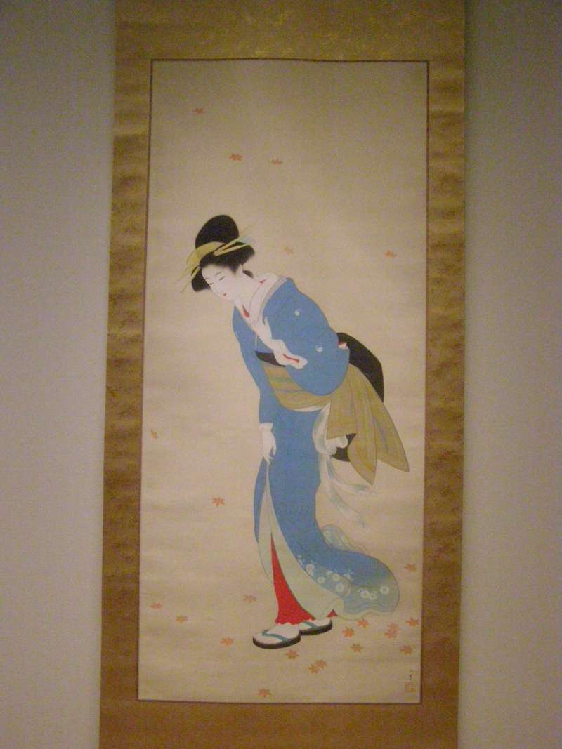 The MOA houses many beautiful Japanese paintings